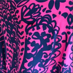 """Lilly Pulitzer Dresses - 🌴Lilly Pulitzer """"Did you Catch That"""" Caftan L/XL"""